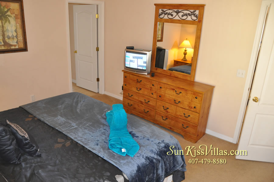 Vacation Villa Near Disney - Misty Cay - Bedroom