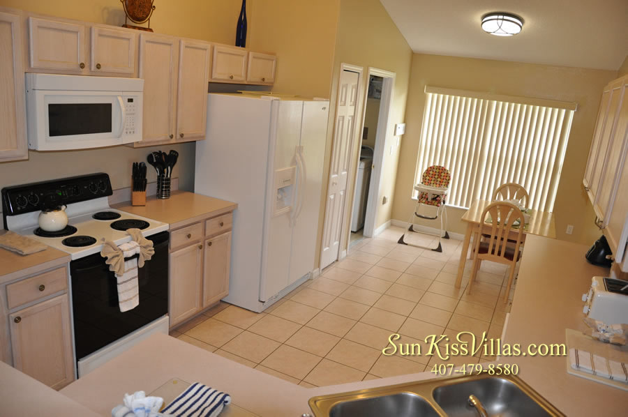 Orlando Vacation Rental - Palm Lake - Kitchen