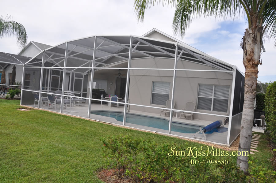Orlando Vacation Rental - Palm Lake - Back Yard