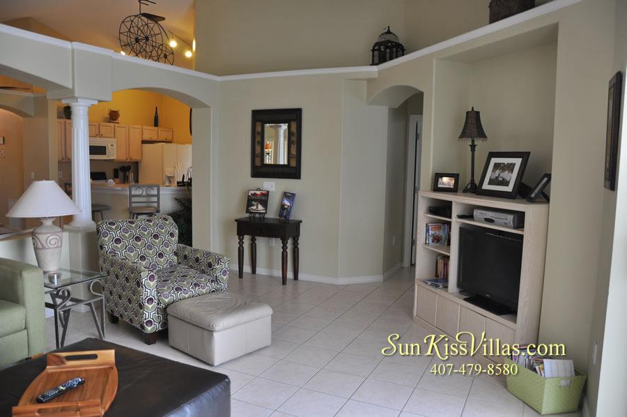 Orlando Vacation Rental - Palm Lake - Family Room