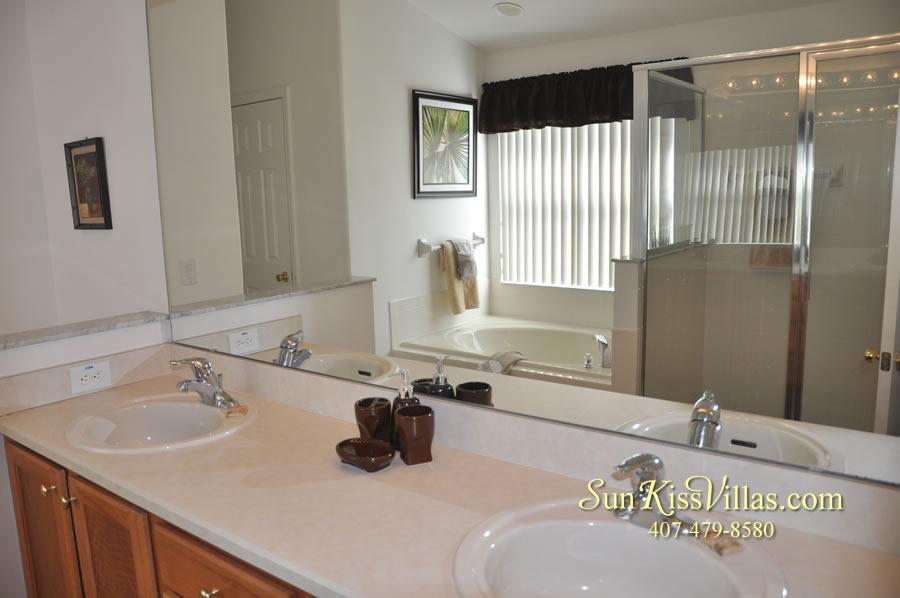Orlando Disney Vacation Rental Solana - Pelican Point - Bathroom