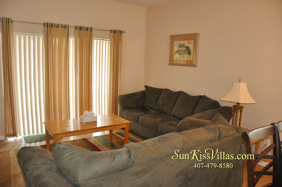 Disney Townhouse Vacation Rental - Sandy Creek - Family Room