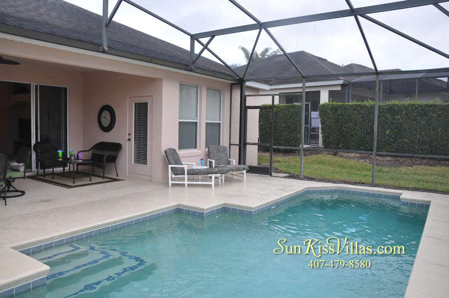 Vacation Home Rental Near Disney World - Sapphire Blue - Pool