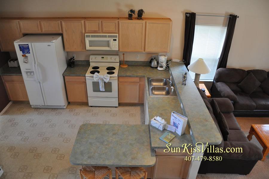 Disney Villa Rental - Sunrise - Kitchen