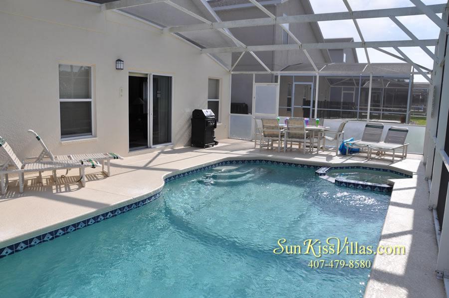 Disney Villa Rental - Sunrise - Pool and Spa