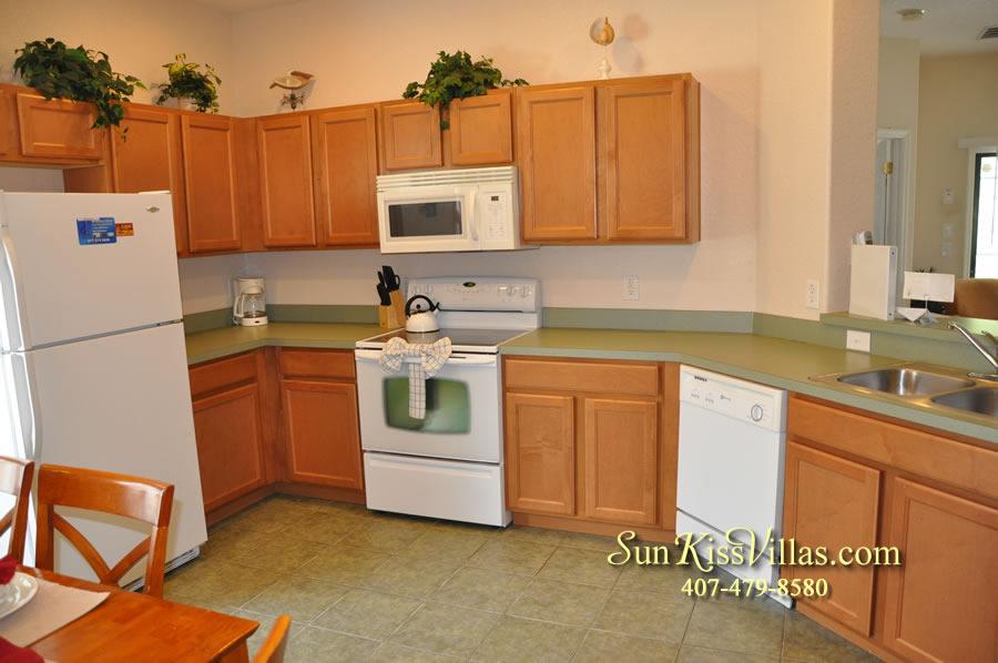 Disney Villa Rental - Tuscan Sun - Kitchen