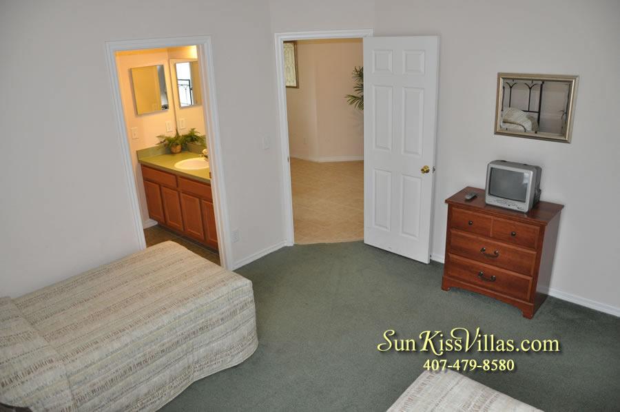 Disney Villa Rental - Tuscan Sun - Twin Bedroom