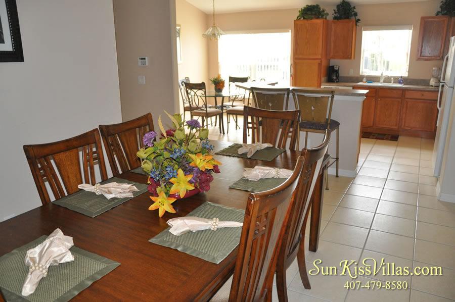 Vacation Villa Rental Near Disney - Emerald Cove - Dining