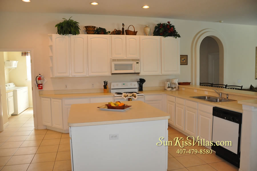 Disney Villa Rental - Heron Bay - Kitchen