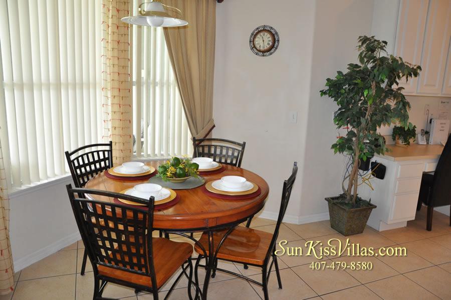 Disney Villa Rental - Heron Bay - Breakfast