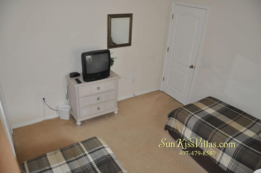 Disney Villa Rental - Heron Bay - Twin Bedroom