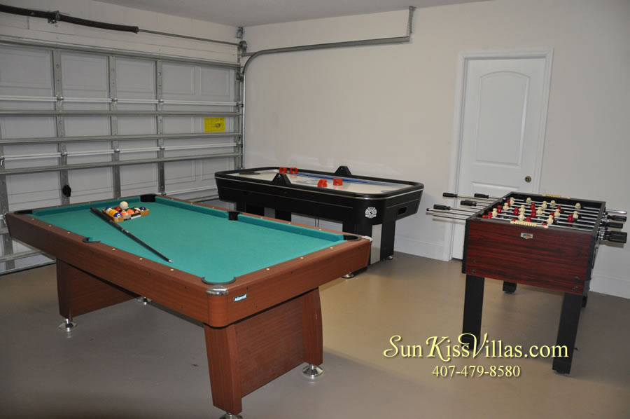 Disney Villa Rental - Heron Bay - Game Room