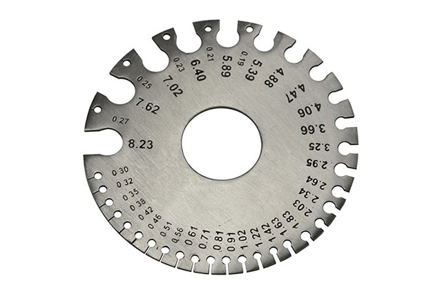 Disc Type Wire Gauge