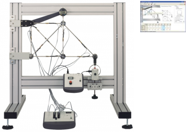 Redundant Joint Truss Apparatus with Data Acquisition