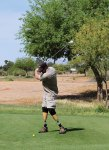 Sgt. Bruce participates in the East Valley Marines Golf Tournament