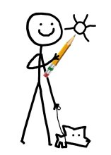 Learn how to draw more than stick figures – take Susan Plouzek's basic drawing class!