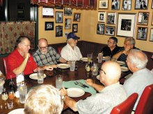 The mid-month dinner at RigaTony's