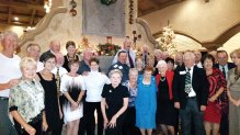 The Sun Lakes Roadrunners enjoyed an evening of good food, friendship and dancing to the music of Thaddeous Rose.