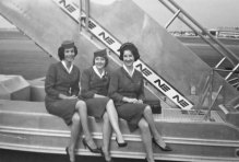 If you are a former stewardess join these lovely ladies at their monthly luncheons!