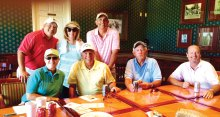 Golfers enjoyed fun and friendship at the event!