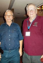 Don Cook and club member Charles Nerko