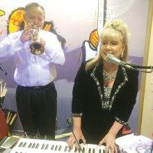 Cheryl Thurston and Gary Church play at Palo Verde.