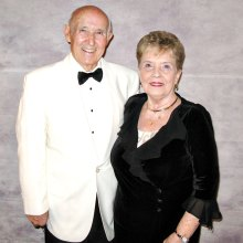 Ben and Joanne Brown at last season's Sonoran Serenade Black and White Ball