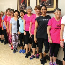 Join these ladies for a Zumba workout!