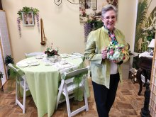 Diane Eddy, owner of Global Tea Mart