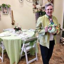 Diane Eddy, owner of Global Tea Mart