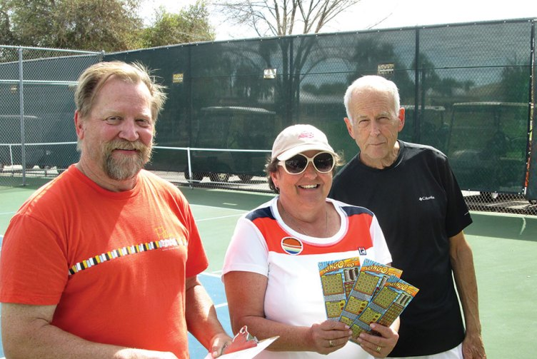 Sun Lakes Tennis Club's annual Hot Dog Tournament