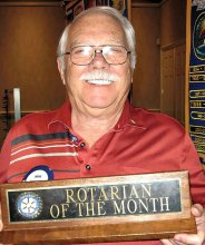 Rotarian of the Month Doug Baker