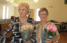 Volunteers of the year 2016:Rose Pachura and Pam Bianchi