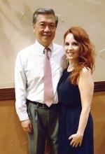 John Yu and Ester Rita Adkins