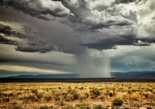 Monsoon storm over Arizona taken by Sun Lakes Camera Club