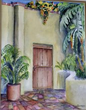 The Door at Casa Alejandra, by Rose Sumners