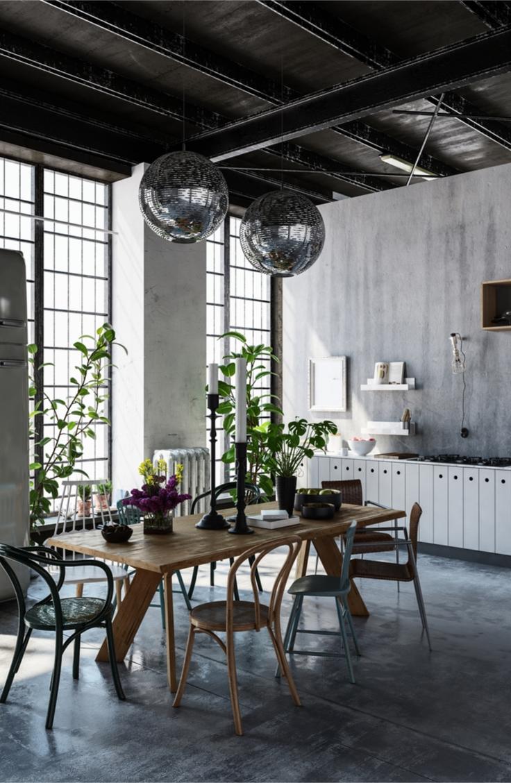 Modern Industrial Home Decor