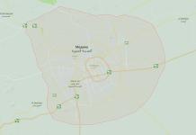 Карта Медины