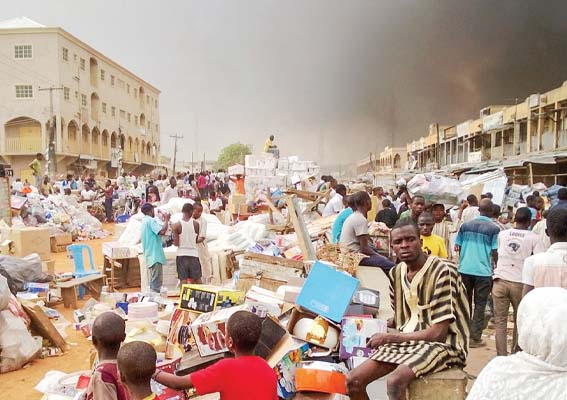 sabongari market - Kano traders reject solar energy solution over high charges