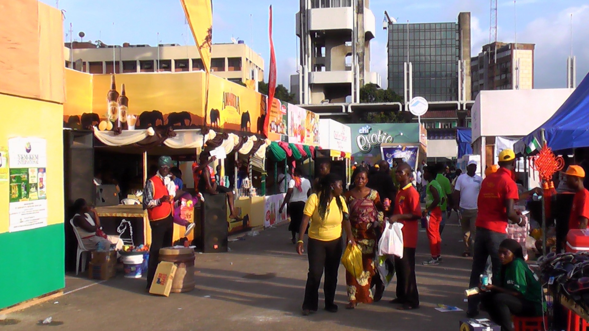 Lagos Trade Fair TVCNews - Lagos Trade Fair: Exhibitors hail ban on music