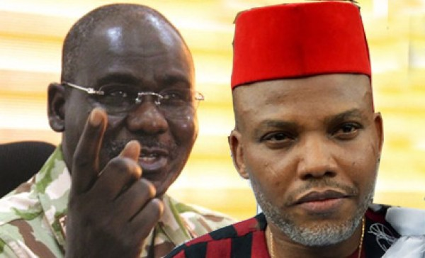 Python Dance 2 drove away Nnamdi Kanu from South East, Buratai declares