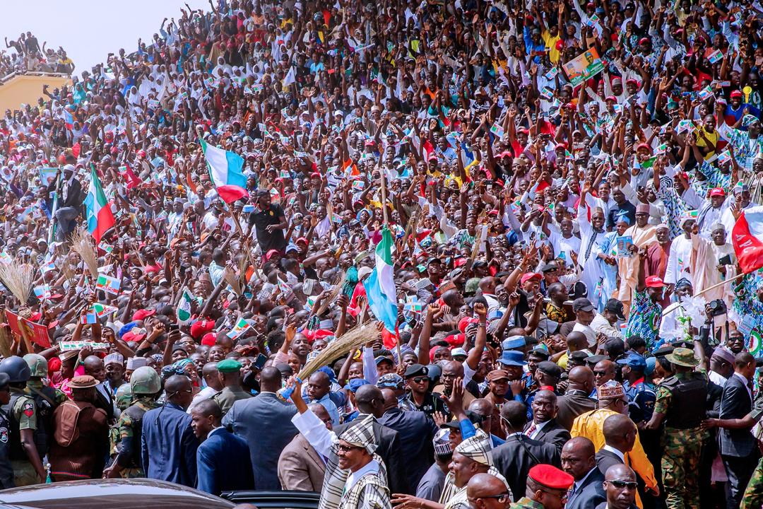 Image result for Five dead, many injured in Buhari's campaign in Taraba