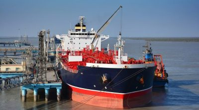 The tracking of oil-lifting vessels