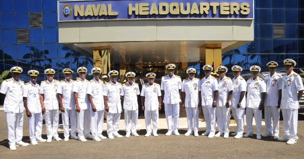 Navy 2 - 200 naval officers commence small arms firing training exercise