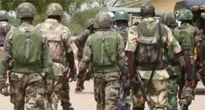 Economic development: Military personnel storm Osun for infrastructure programme