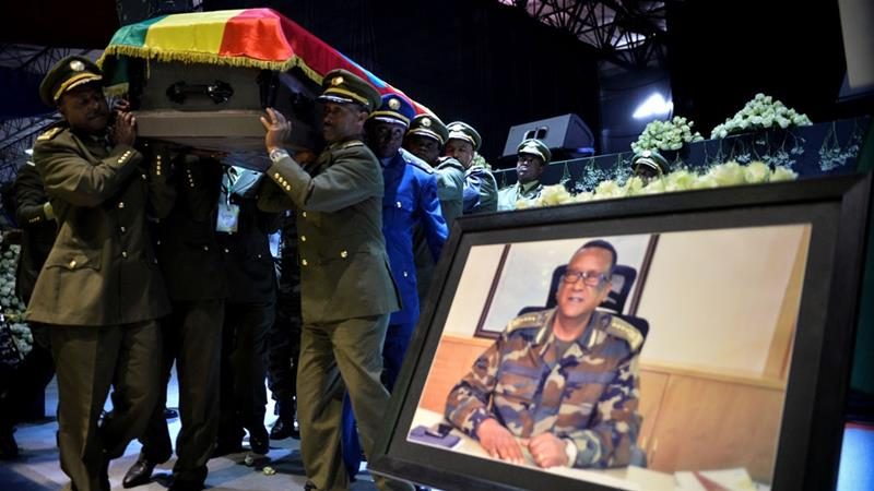 Ethiopia pays tribute to slain army chief