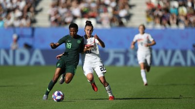 Women's World Cup: Super Falcons crash out, lose 3-0 to Germany