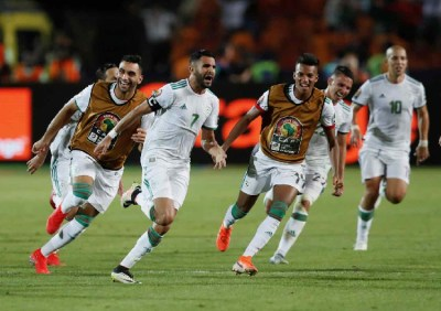 AFCON 2019: Mahrez stunner sends Eagles packing