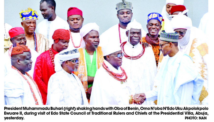Oba Of Benin Urges Traditional Rulers To Fast, Prayer For State