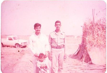 كوخ من قصب .. وحجرة من طين/ صورة قديمة للدكتور طه الدليمي